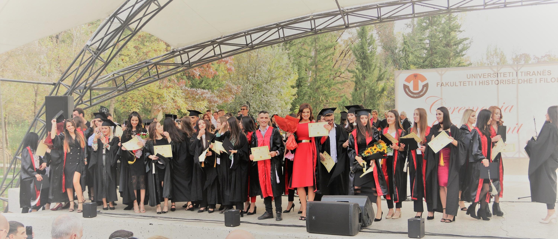 Nga Ceremonia e Diplomimit të studentëve 2017-2018