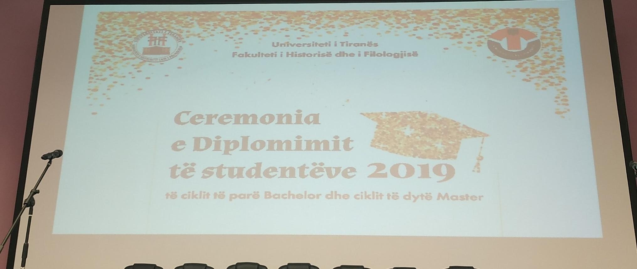 Fjala përshëndetëse e Dekanit të FHF-së, Prof. dr. Sabri LAÇI  në Ceremoninë e Diplomimit të studentëve