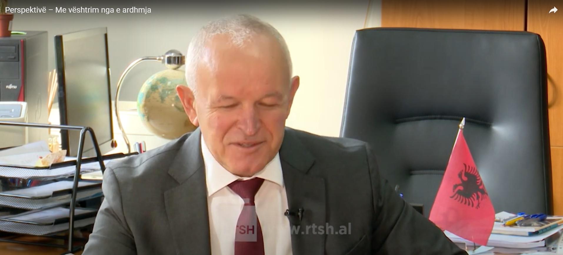 """Intervista e Dekanit të FHF-së, prof. dr. Sabri LAÇI, dhënë Emisionit """"Perspektivë"""" të RTSH-2, me temë: Sfidat e mësimit online."""