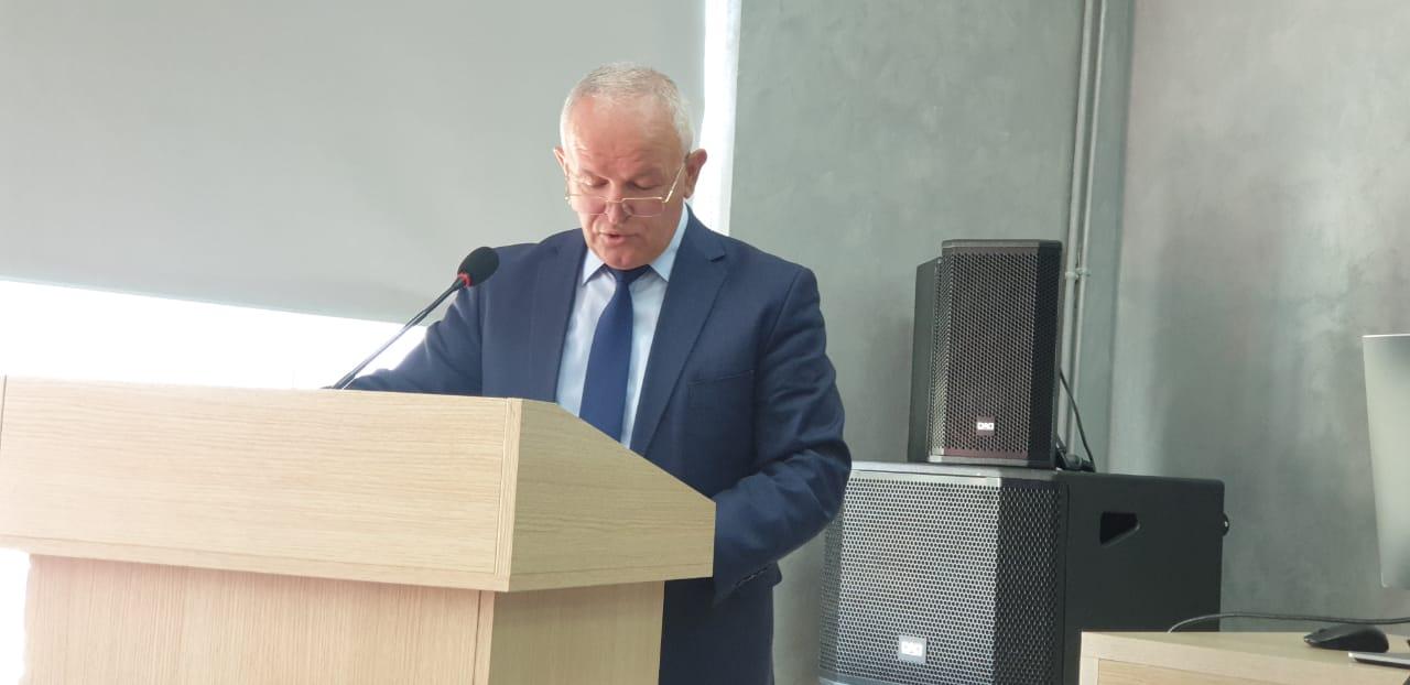 Përshëndetja  në  Konferencën për Ditën Ndërkombëtare të Gjuhës Amtare, Prof. dr. Sabri LAÇI, Dekan i FHF-së, UT