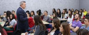 Leksion i hapur nga Ambasadori i Republikës së Turqisë z. Murat Ahmet Yörük