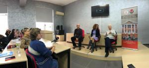 """Forumit """"Humanities"""" me regjisorët Rubert Budina dhe Kastriot Çipi"""